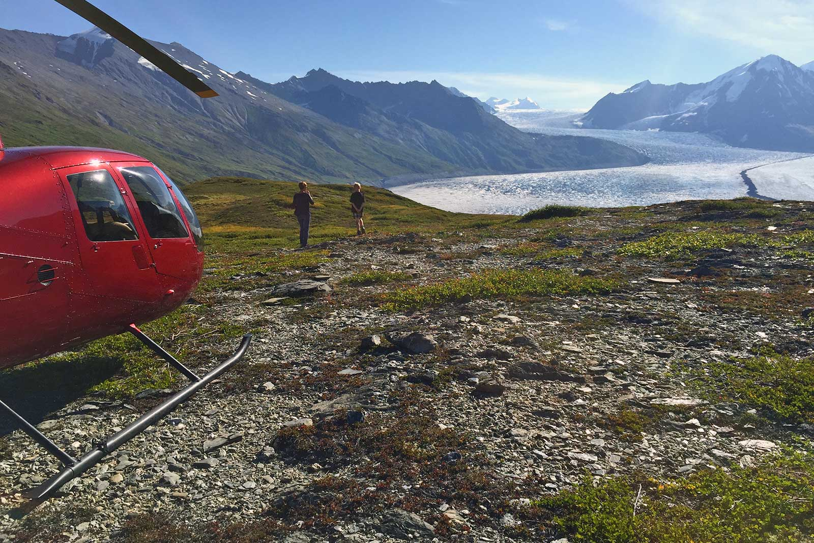 Alaska Heli Hiking