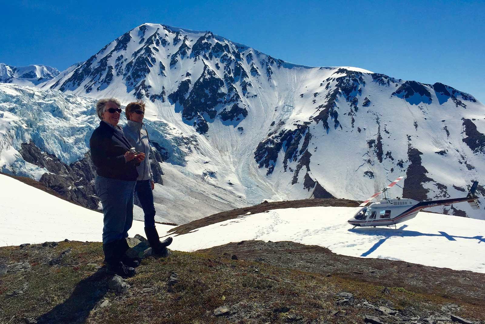 Alaska Heli Hiking