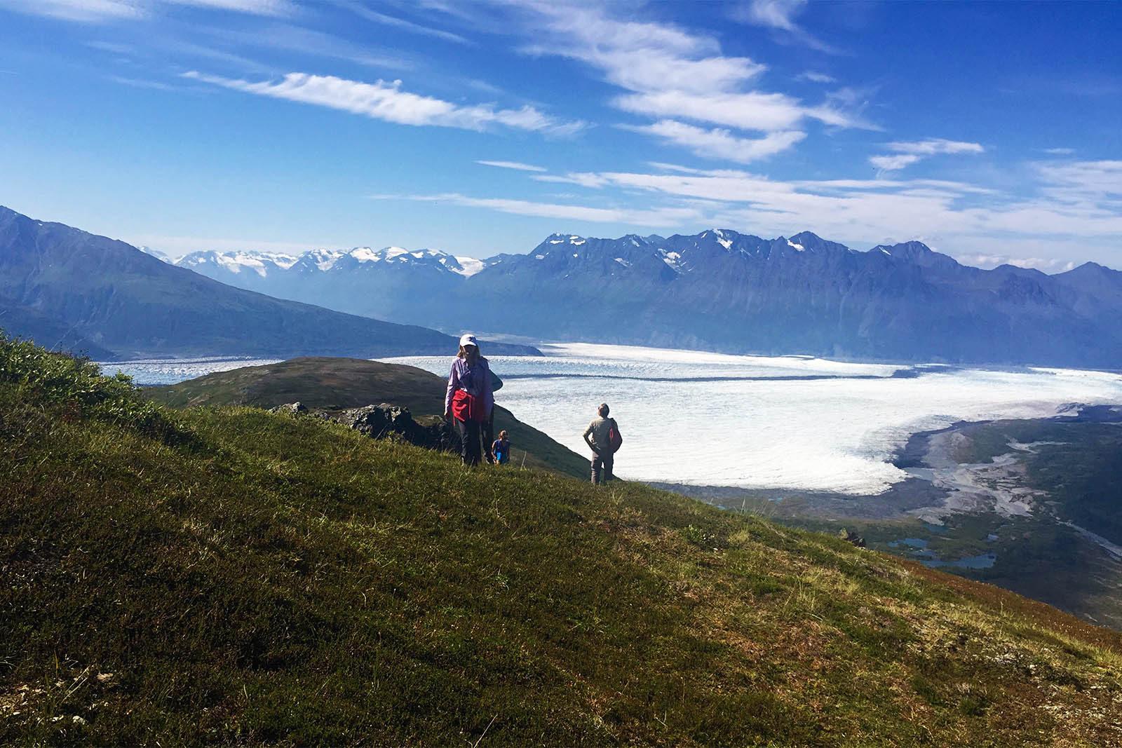 Heli Hiking Alaska Glacier Tours