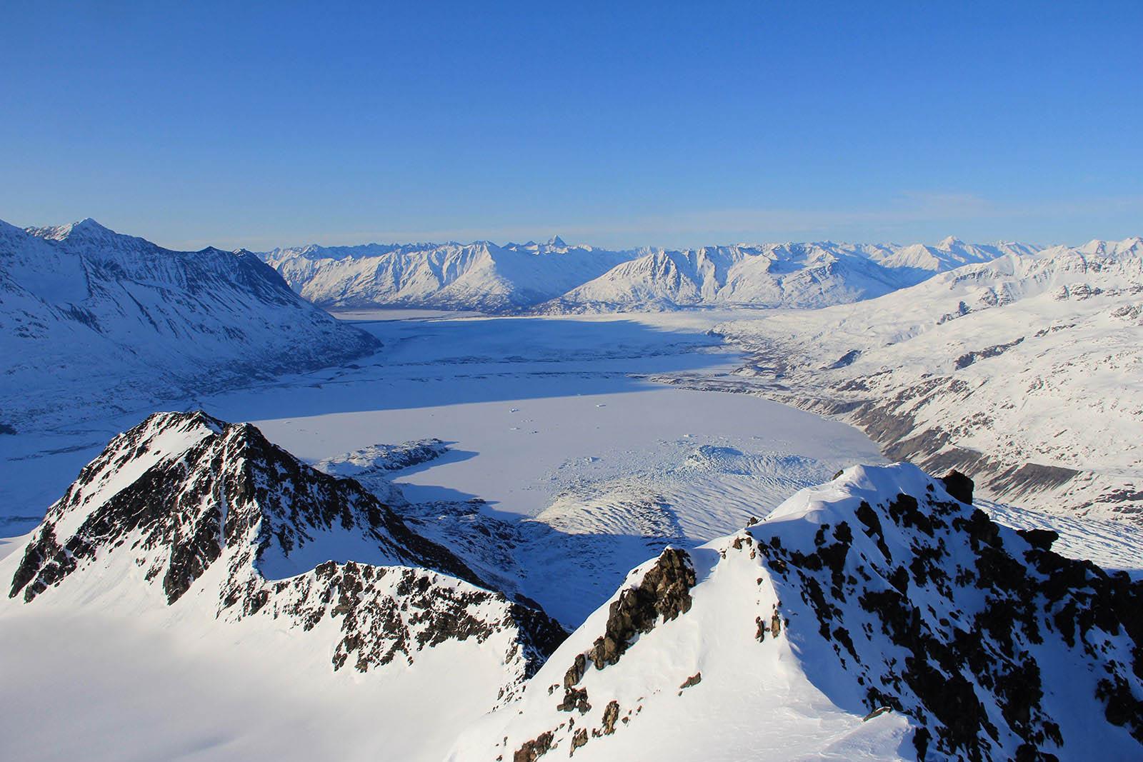 Alaska Glacier Scenery