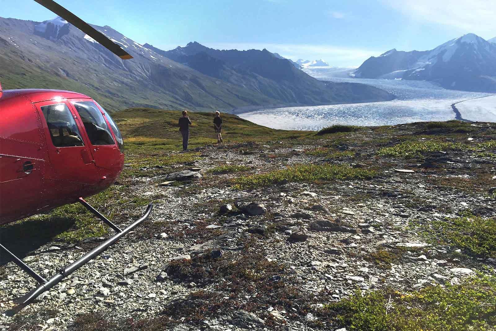 Alaska Glacier Heli Hiking