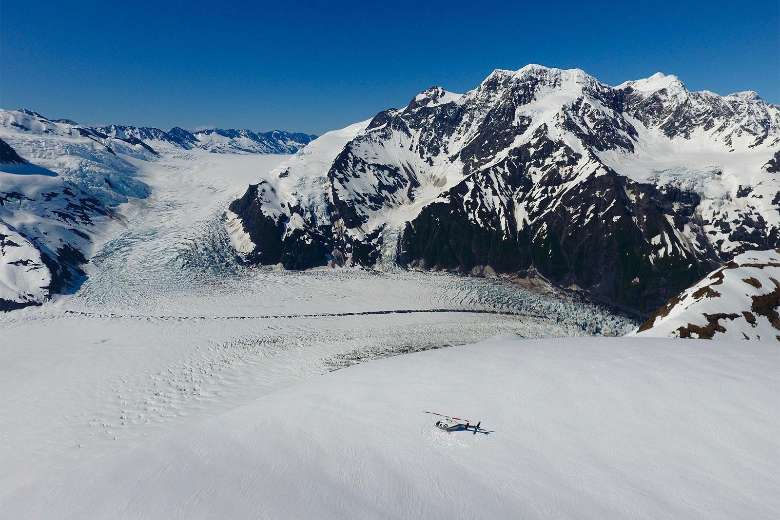 Alaska Glacier Landing