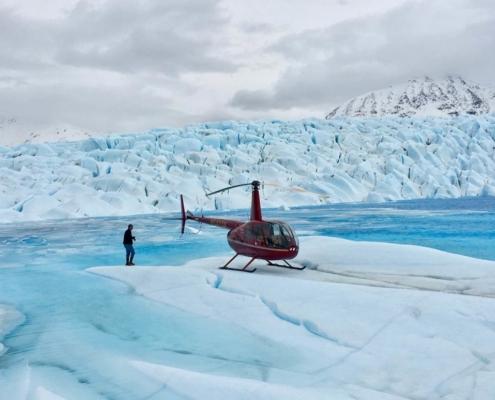 Heli Glacier ©Peter Schadee